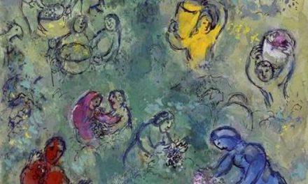 """""""La vendimia"""" (1942), de Marc Chagall"""