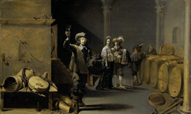 """""""Los expertos del vino"""" (1640), de Jacob Duck"""