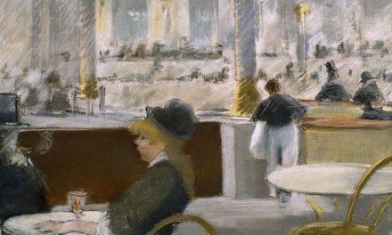 """""""Dentro de un café"""" (1880), de Édouard Manet"""