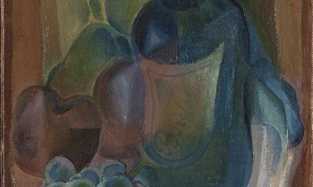 """""""Botella y fruta"""" (1923), de Juan Gris"""