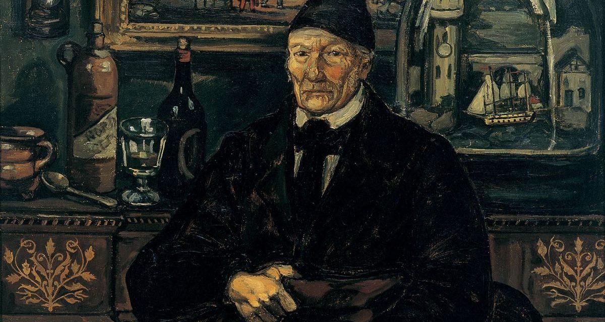 """""""Armador o El viejo armador"""" (hacia 1925), de José Gutierrez Solana"""