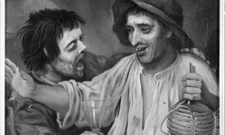 """""""Dos bebedores"""" (siglo XVII), de Antonio de Puga"""