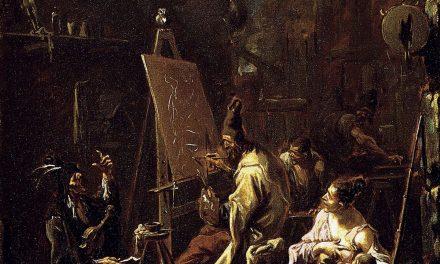 """""""El estudio del pintor"""" (1720), de Alessandro Magnasco"""