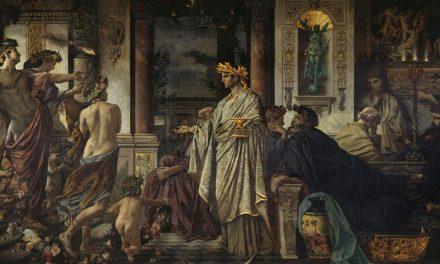 """""""El banquete"""" (1871), de Anselm Feuerbach"""