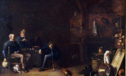 """Escena de taberna"" (siglo XVII), de Cornelis Saftleven"