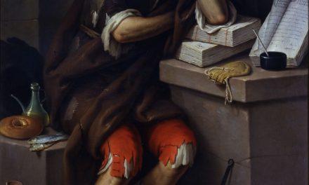 """""""Figura de un litigante"""" (1790), de José Vergara"""