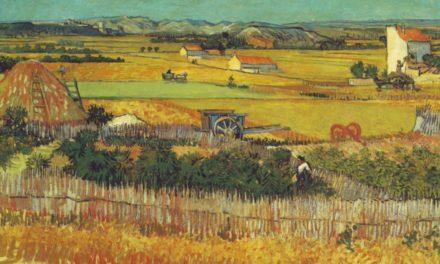 """""""La cosecha"""" (1888), de Vincent van Gogh"""
