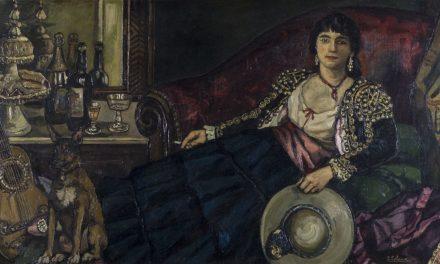 """""""La cupletista"""" (1927), de José Gutiérrez Solana"""