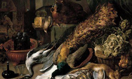 """Naturaleza muerta con enfriador de vino"" (1615), de Frans Snyders"
