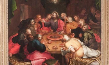 """""""Santa Cena/ La Última Cena"""" (1592), de Otto van Veen"""
