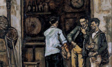 """""""Taberna en Santander"""" (hacia 1944-1945), de José Gutierrez Solana"""