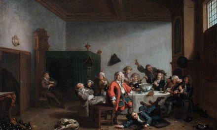 """Una alegre fiesta"" (1745), de Jan Josef Horemans el Joven"