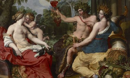"""""""Ceres, Bacco y Venus"""" (entre 1605 y 1615), de Abraham Janssens"""
