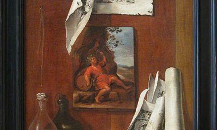 """""""El vino o Alegoría del gusto"""" (1730), de Bernardo Lorente Germán"""
