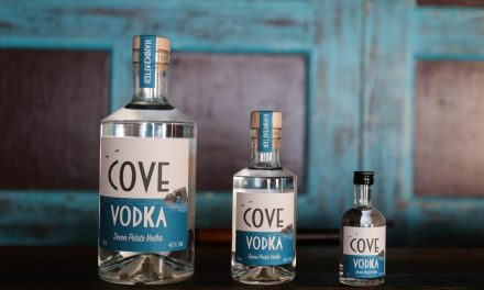 Cove Vodka, primer vodka de patata de Devon