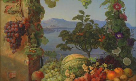 """""""Bodegón de uvas"""" (1832), de Christine Løvmand"""