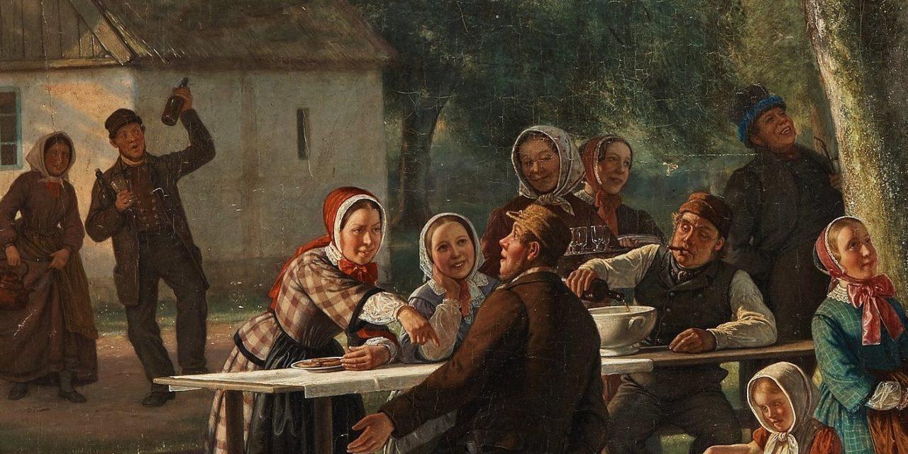 """Fiesta de verano"" (1850), de David Monies"