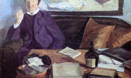 """""""Esperando en casa"""" (1914), de Edvard Weie"""