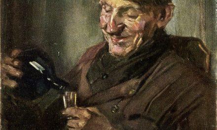 """""""El bebedor"""" (1875), de Ettore Roesler Franz"""