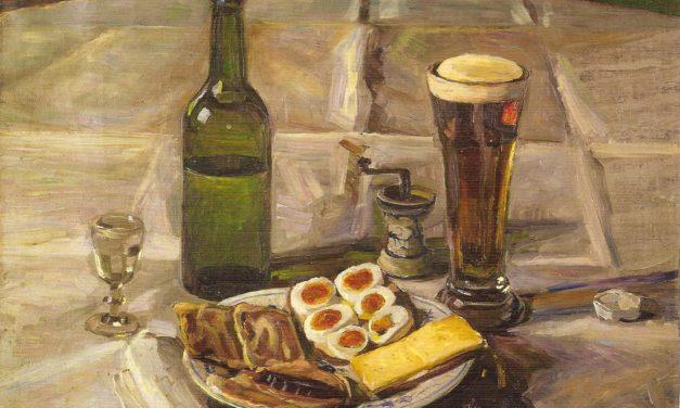"""""""Bodegón"""" (1906), de Fritz Syberg"""