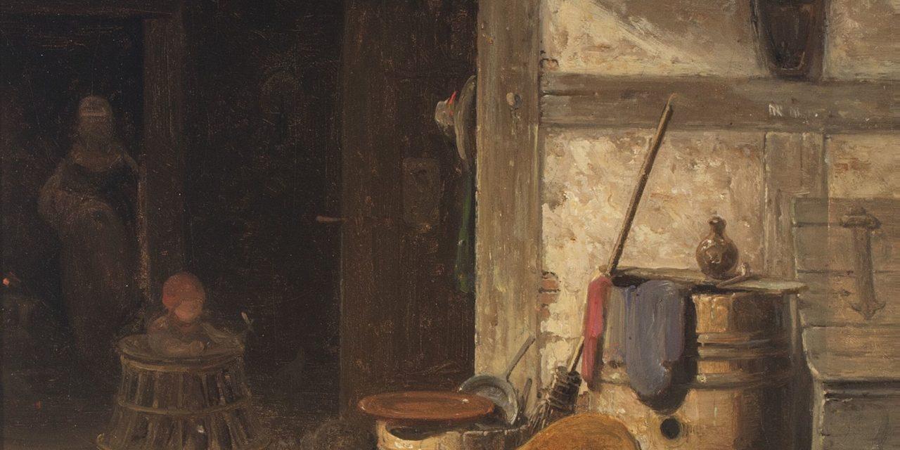 """Interior"" (1854), de Georg Emil Libert"
