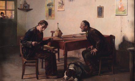 """""""La pipa rota"""" (1871), de Giovanni Battista Quadrone"""