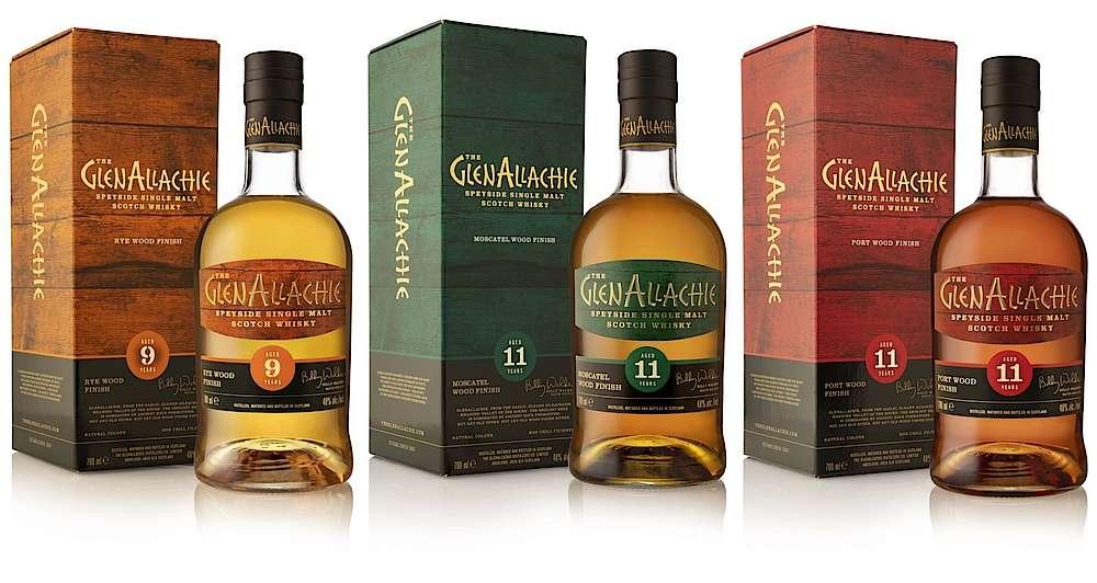 GlenAllachie estrena nuevos whiskies Wood Finish
