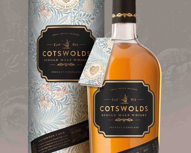 Nueva Edición Limitada 'Hearts and Crafts' Single Malts de The Cotswolds Distillery