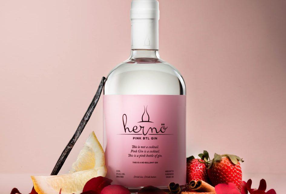 Hernö Gin lanza su expresión rosa, Hernö Pink Btl Gin