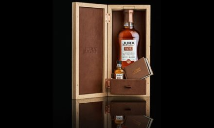 Jura embotella whisky de 44 años para la venta al por menor de viajes con Jura Very Rare Vintage 1975