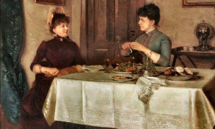 """""""Dos amigas"""" (1888), de Kathinka Agerskov"""