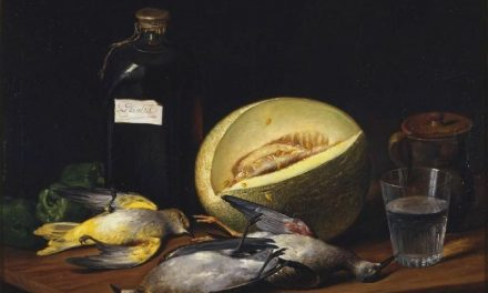"""Bodegón"" (1807), de José López Enguídanos"