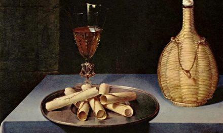 """Bodegón con galletas de barquillo"" (1631), de Lubin Baugin"