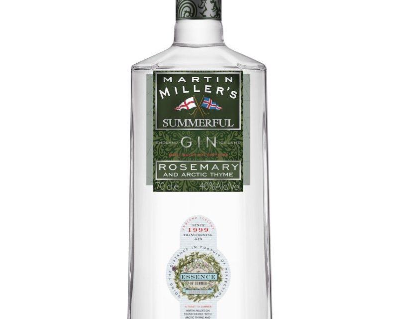 Martin Miller lanza Martin Miller's Summerful Gin, una ginebra inspirada en el verano