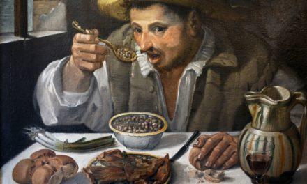 """Comiendo judias"" (1580-1590), de Annibale Carracci"