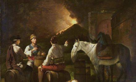 """""""Los bebedores de vino"""" (1786), de Martin Ferdinand Quadal"""