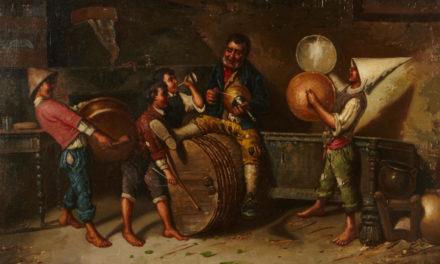 """""""Fiesta alegre"""" (1882), de Napoleone Parisani"""