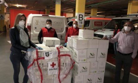 """MGWines se une a la campaña """"Plan Cruz Roja Responde"""""""