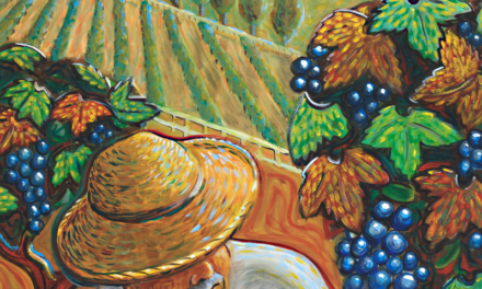 """La recogida de la uva"" (2002), de Peter Sesselmann"