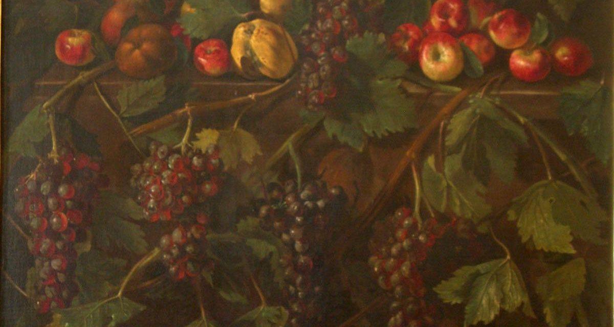 """""""Bodegón de frutas"""" (siglo XVII), de Giovanni Battista Ruoppolo"""