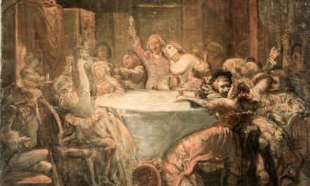 """""""Banquete"""" (1860), de Leopoldo Sánchez del Bierzo"""
