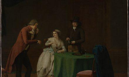 """El sentido del olfato"" (1791), de Jan Ekels"
