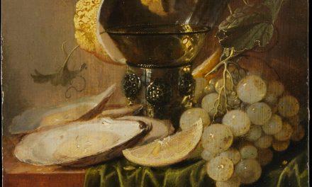 """""""Bodegón con copa y ostras"""" (1640), de Jan Davidsz. de Heem"""