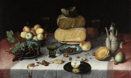 """""""Bodegón con queso"""" (1615), de Floris Claesz van Dijck"""