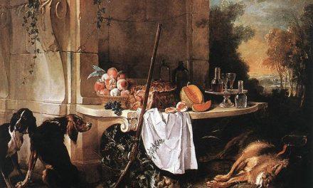 """""""Lobo muerto"""" (1721), de Jean Baptiste Oudry"""