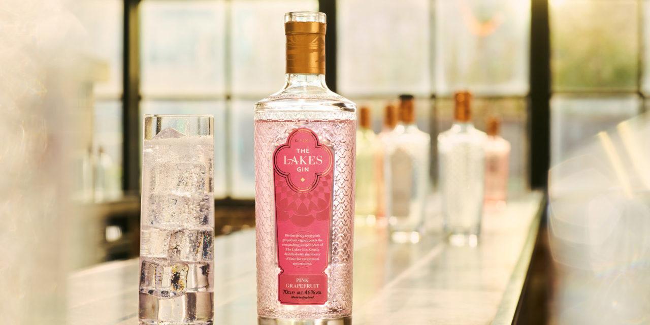 Lakes Distillery lanza The Lakes Pink Grapefruit Gin, ginebra de pomelo rosa