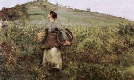 """""""Tiempo de cosecha"""" (1880), de Jules Bastien-Lepage"""