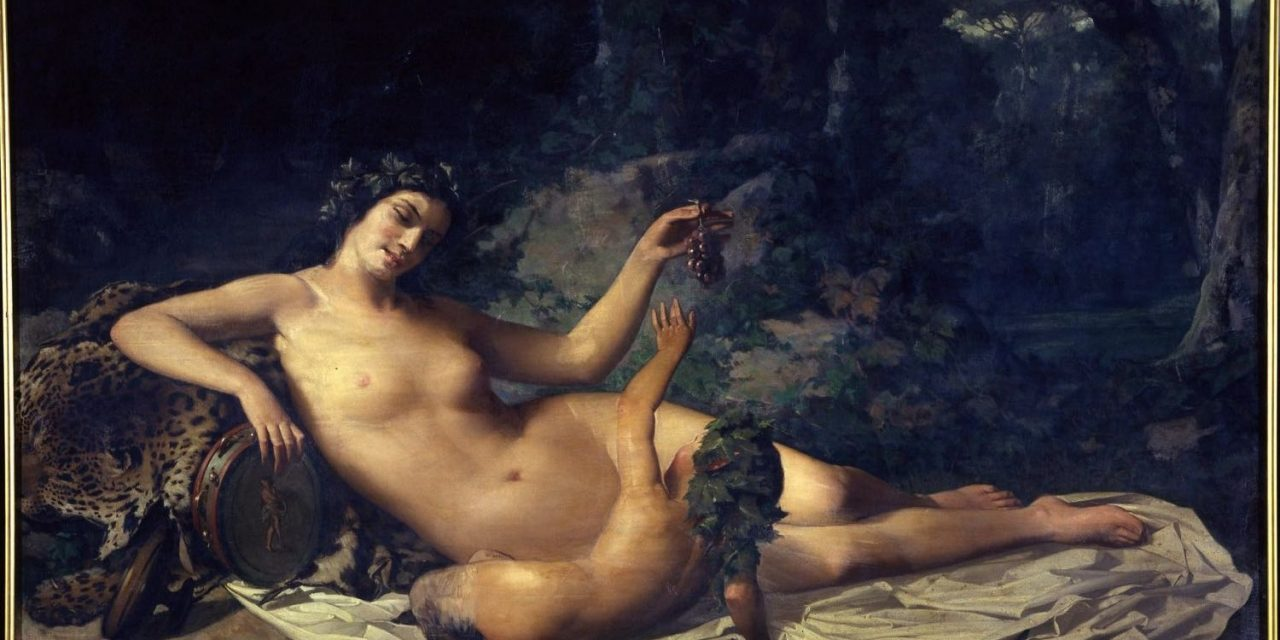 """""""Venus y un cupidillo"""" (1859), de Dióscoro Teófilo Puebla Tolín"""