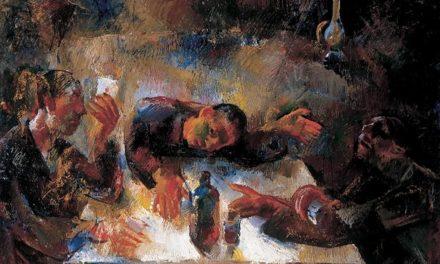 """""""Los bebedores de vino"""" (1932), de Vilmos Aba-Novak"""