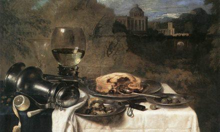 """""""Bodegón con aceitunas"""" (1634), de W-C. Heda"""